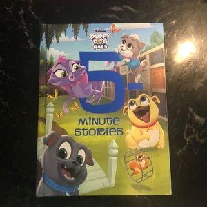 Book: Disney puppy dog pals 5 minute stories